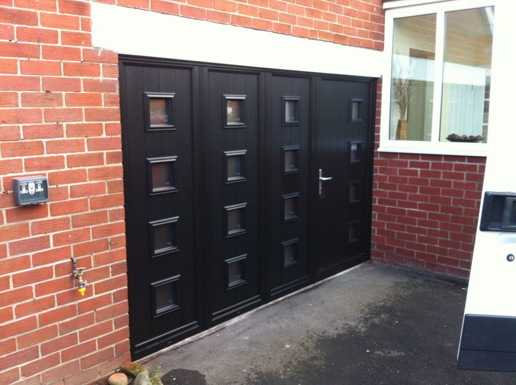 Solidor Composite Door Combination Installation Garage Doors Durham
