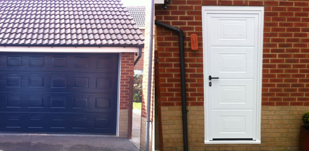 Garage Side Door Installation Garage Doors Durham