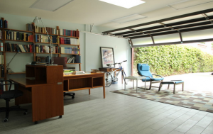 Garage-as-home-office